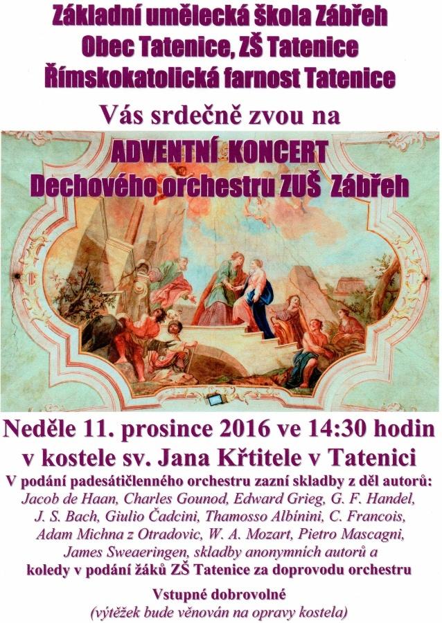 Adventní koncert 2016